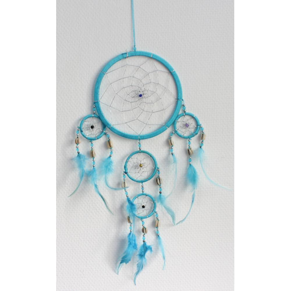 Dreamcatcher-Moyen-Modele-Turquoise-17-cm