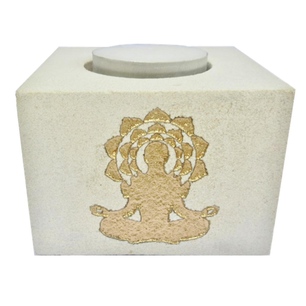 Bougeoir-Pierre-Gravee-Bouddha-8x8-cm